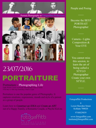 PHASE II - Advance Photography Course